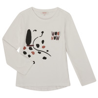 Clothing Girl Long sleeved tee-shirts Catimini CR10225-19-J White