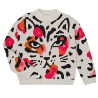 Clothing Girl Jumpers Catimini CR18035-11-J Multicolour