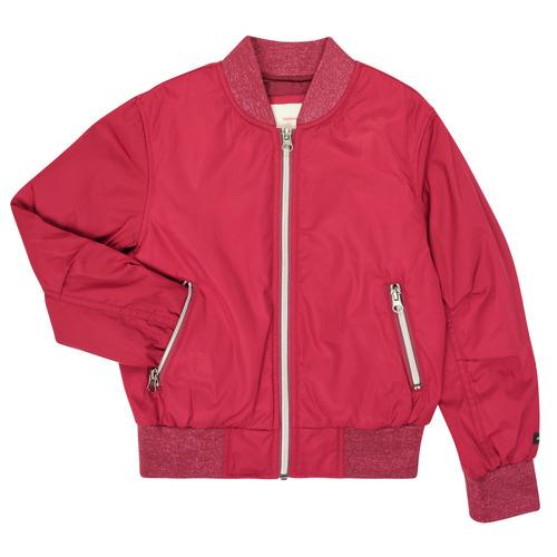 Clothing Girl Jackets Catimini CR41015-85-J Bordeaux