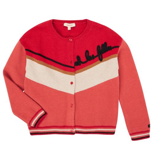 Clothing Girl Jackets / Cardigans Catimini CR18015-67-J Multicolour