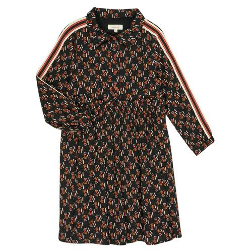 Clothing Girl Short Dresses Catimini CR30005-02-J Multicolour