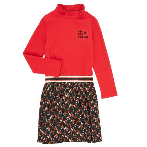 Clothing Girl Short Dresses Catimini CR30035-38-J Multicolour