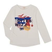 Clothing Girl Long sleeved tee-shirts Catimini CR10105-19-J White