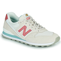 Shoes Women Low top trainers New Balance 996 Beige / Pink