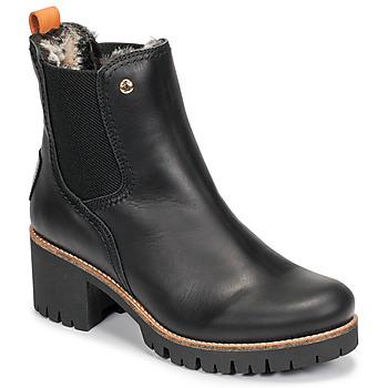 Shoes Women Mid boots Panama Jack PIA Black