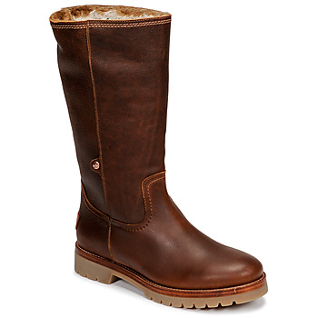 Shoes Women Mid boots Panama Jack BAMBINA Brown