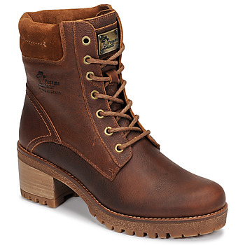 Shoes Women Mid boots Panama Jack PHOEBE Brown