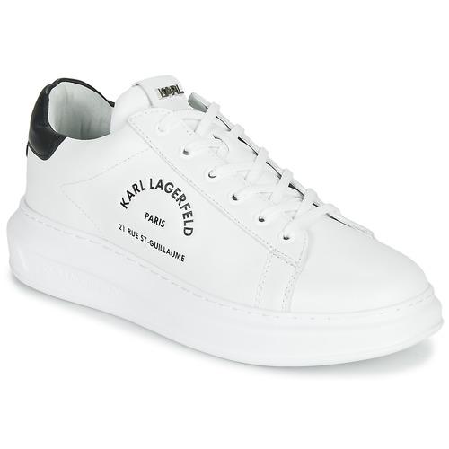 Shoes Men Low top trainers Karl Lagerfeld KAPRI MAISON KARL LACE White