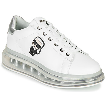 Shoes Women Low top trainers Karl Lagerfeld KAPRI KUSHION Karl Ikonic Lo Lace White / Silver