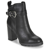 Shoes Women Ankle boots Buffalo MELANY Black
