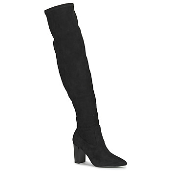 Shoes Women Thigh boots Buffalo MAGDALENA Black