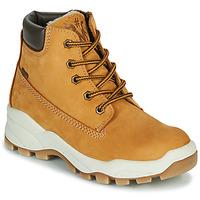 Shoes Boy Mid boots Primigi HOSHI GTX Cognac