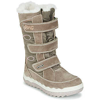 Shoes Girl Snow boots Primigi FROZEN GTX Beige / Brown