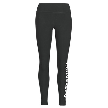 Clothing Women Leggings Converse CONVERSE WOMENS WORDMARK LEGGING Black