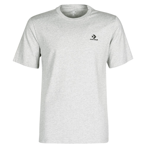 Clothing Men Short-sleeved t-shirts Converse CONVERSE LEFT CHEST SM STAR CHEVRON TEE Grey