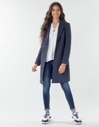 Clothing Women Coats Benetton 2AMH5K2R5 Marine