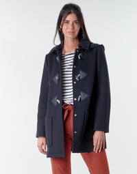 Clothing Women Coats Benetton 2BZP53655 Marine