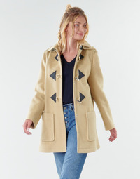 Clothing Women Coats Benetton 2BZP53655 Beige