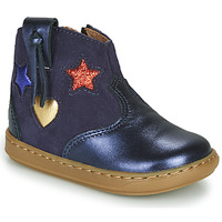 Shoes Girl Hi top trainers Shoo Pom BOUBA WEST Blue