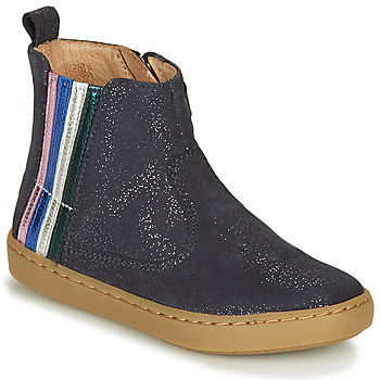 Shoes Girl Mid boots Shoo Pom PLAY STRIPES Blue