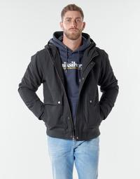 Clothing Men Jackets Quiksilver BROOKS M JCKT KVJ0 Black
