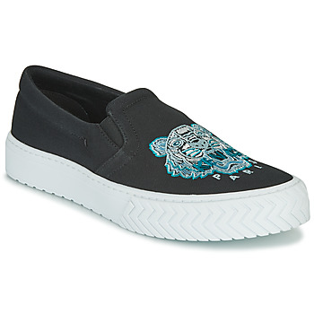 Shoes Women Slip-ons Kenzo K SKATE Black