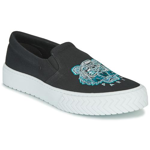 Shoes Women Slip-ons Kenzo K SKATE Black