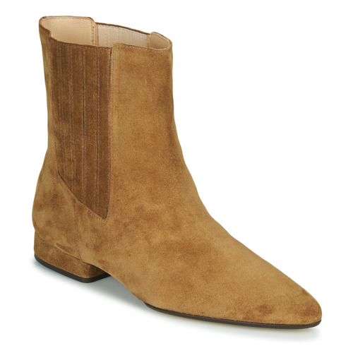 Shoes Women Mid boots Kenzo K LINE SOFT Camel