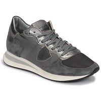 Shoes Women Low top trainers Philippe Model TROPEZ Grey