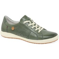 Shoes Women Fitness / Training Josef Seibel Caren 01 Womens Casual Trainers green