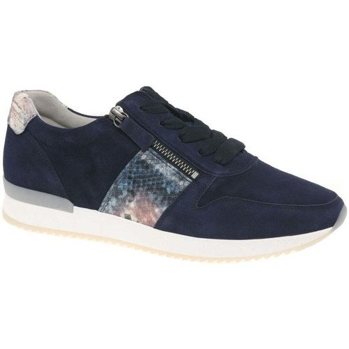 Shoes Women Fitness / Training Gabor Lulea Womens Casual Trainers blue