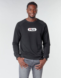 Clothing Men Sweaters Fila BAHA RAGLAN CREW Black
