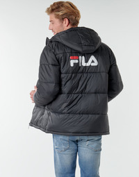 Clothing Men Duffel coats Fila SCOOTER PUFFER JACKET Black