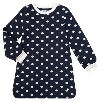 Clothing Girl Short Dresses Petit Bateau LAURYNE Marine