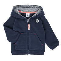Clothing Boy Fleeces Petit Bateau FIER Marine