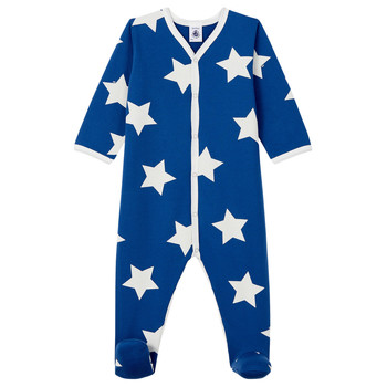 Clothing Boy Sleepsuits Petit Bateau LARGO Multicolour