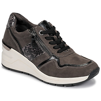 Shoes Women Low top trainers Marco Tozzi 2-23777-25-225 Grey