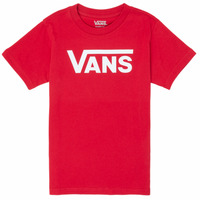 Clothing Boy Short-sleeved t-shirts Vans BY VANS CLASSIC Red