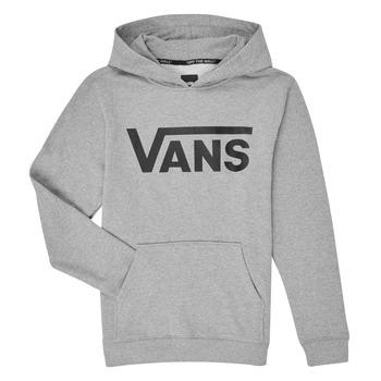 Clothing Children Sweaters Vans VANS CLASSIC PO Grey