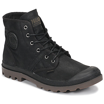 Shoes Mid boots Palladium PALLABROUSE WAX Black