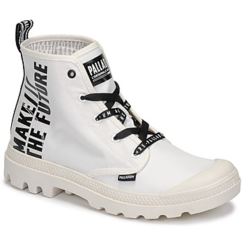Shoes Mid boots Palladium PAMPA HI FUTURE White