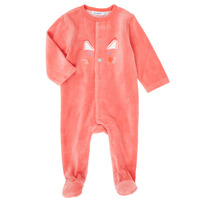 Clothing Girl Sleepsuits Noukie's Z087133 Pink