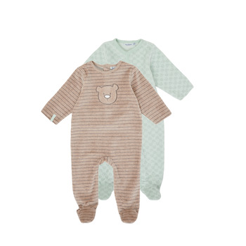 Clothing Boy Sleepsuits Noukie's Z091371 Blue / Brown