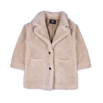 Clothing Girl Coats Le Temps des Cerises IGOR Beige