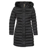 Clothing Women Duffel coats Geox BETTANIE Black