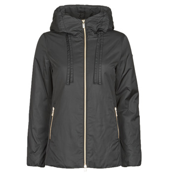 Clothing Women Parkas Geox MYRIA Black