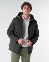 Clothing Men Jackets Geox CLINDFORD Black