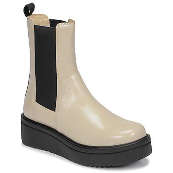 Shoes Women Mid boots Vagabond Shoemakers TARA Beige
