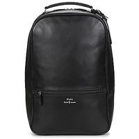 Bags Men Rucksacks Polo Ralph Lauren BACKPACK-BACKPACK-SMOOTH LEATHER Black