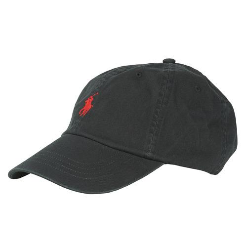 Clothes accessories Men Caps Polo Ralph Lauren HSC01A CHINO TWILL Black